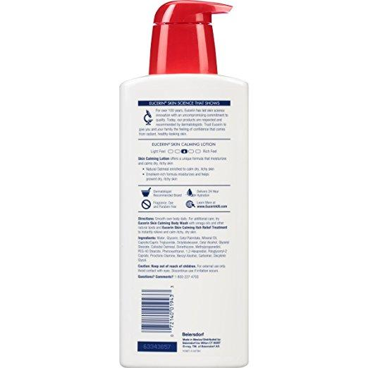 Eucerin Skin Calming Body Lotion 16.9 Fluid oz - Skincare