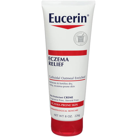 Eucerin Eczema Relief Body Creme, 226G/8 Ounce (Pack of 3) - Skincare