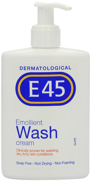 E45 Dermatological Emollient Wash Cream 250ml - Skincare