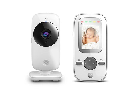 Motorola MBP481 Digital Video Baby Monitor with 2 inch Display (Silver) - Mother Baby & Kids