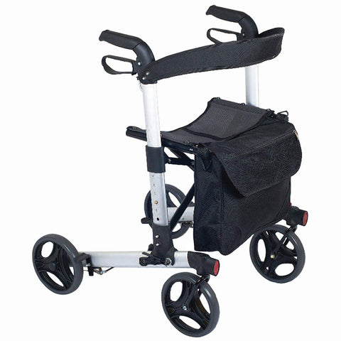 NRS Healthcare M66739 Compact Easy Rollator Wheeled Walking Aid - FOLDABLE - Healthcare