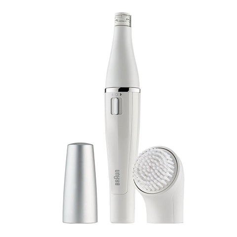 Braun Face 810 Facial Epilator and Facial Cleansing Brush Plus Additional Battery - Personal Grooming