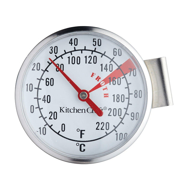 KitchenCraft Stainless Steel Milk Frothing Thermometer - Home & Living