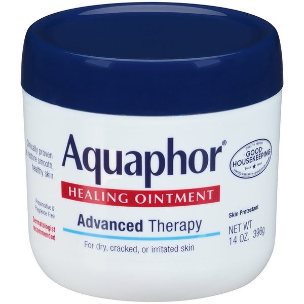 Aquaphor Healing Ointment Advanced Therapy 14 Ounce (396g) Jar - Skincare