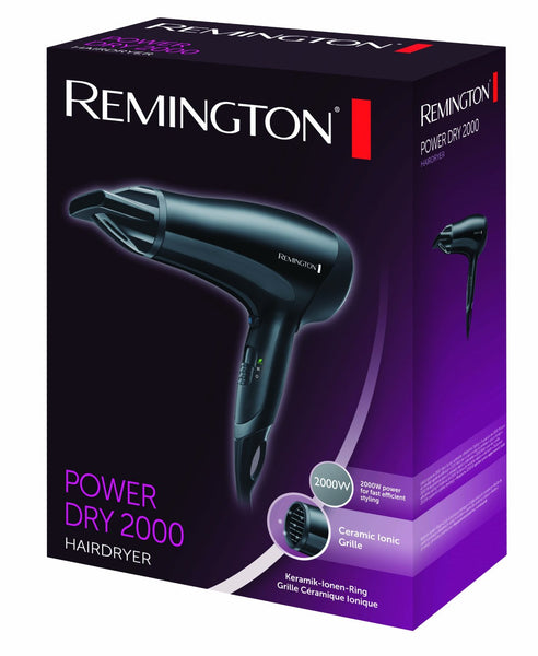 Remington Power Dry 2000 Hairdryer D3010 - Beautycare