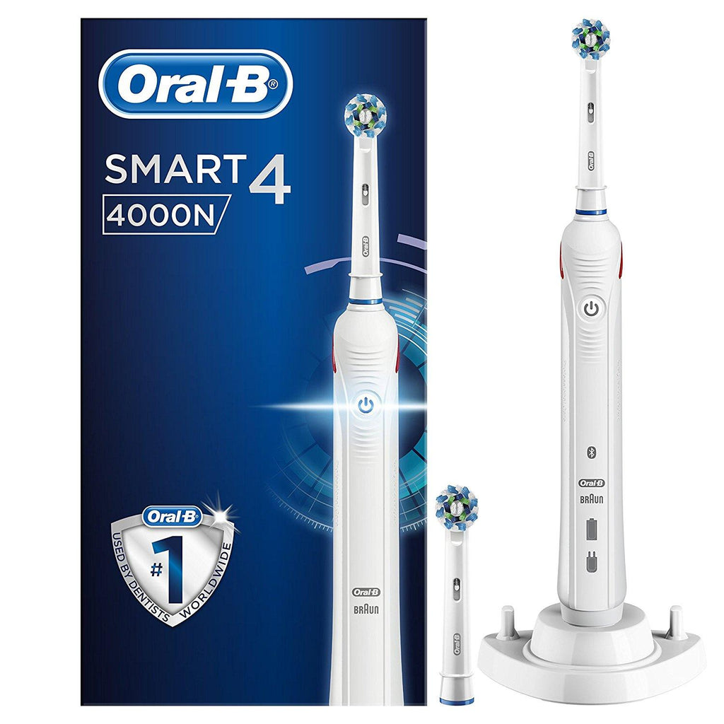 Oral-B Smart 4 4000N CrossAction Electric Rechargeable Toothbrush  - Dentalcare