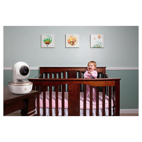 Motorola MBP855CONNECT Wi-Fi HD Video Baby Monitor - Mother Baby & Kids