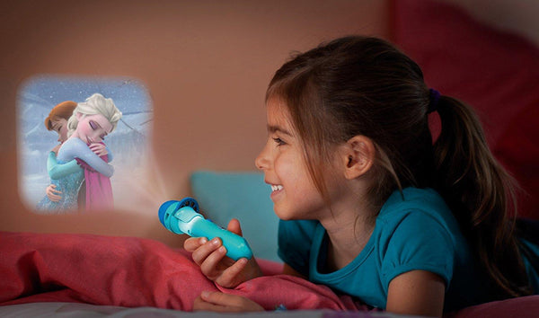 Philips Disney Frozen Children's Projector Torch & Night Light Integrated LED - Mother Baby & Kids