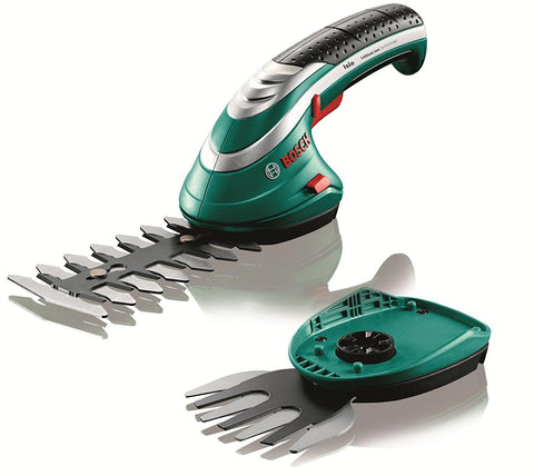 Bosch Isio Cordless Shrub and Grass Shear Set - Home & Living
