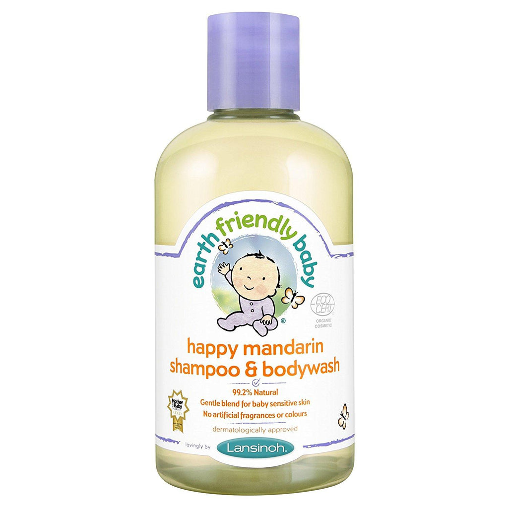 Earth Friendly Baby Happy Mandarin Shampoo and Bodywash Ecocert - Skincare