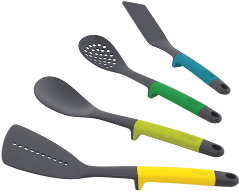 Joseph Joseph Elevate Utensils Set, Nylon, Multi-Colour, Set of 4 - Home & Living