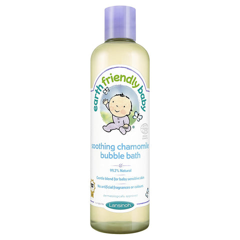 Earth Friendly Baby Soothing Chamomile Bubble Bath Ecocert 300ml - Skincare