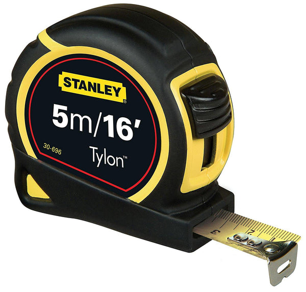 Stanley STA030696 Pocket Tylon Tape, 5 m16 feet (19 mm) - Multi-Colour - Home & Living