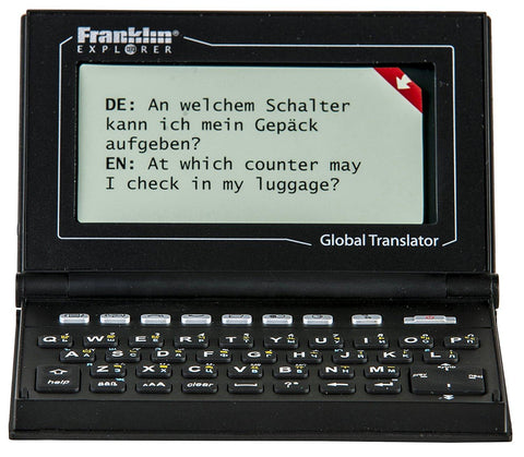 Franklin M520 Global Translator 15 Language - Home & Living