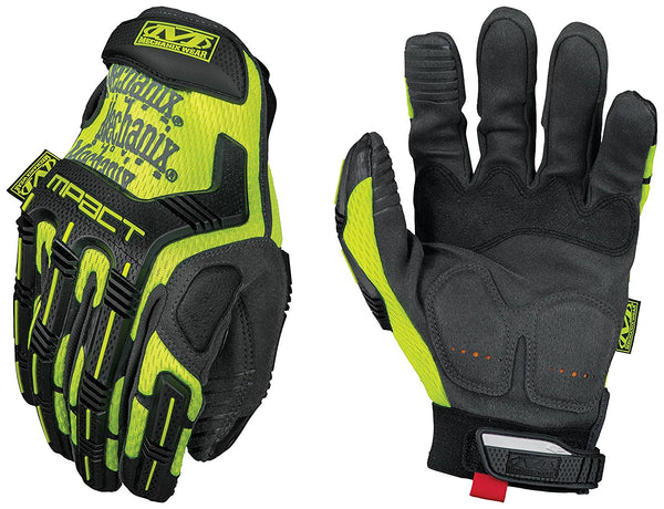 Mechanix Mech Mpact Safety Gloves Yellow SMP91 - Size M - Home & Living