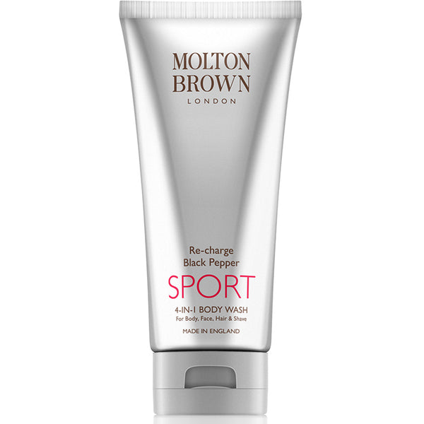 Molton Brown Re-Charge Black Pepper SPORT 4-in-1 Body Wash (200ml) - Skincare