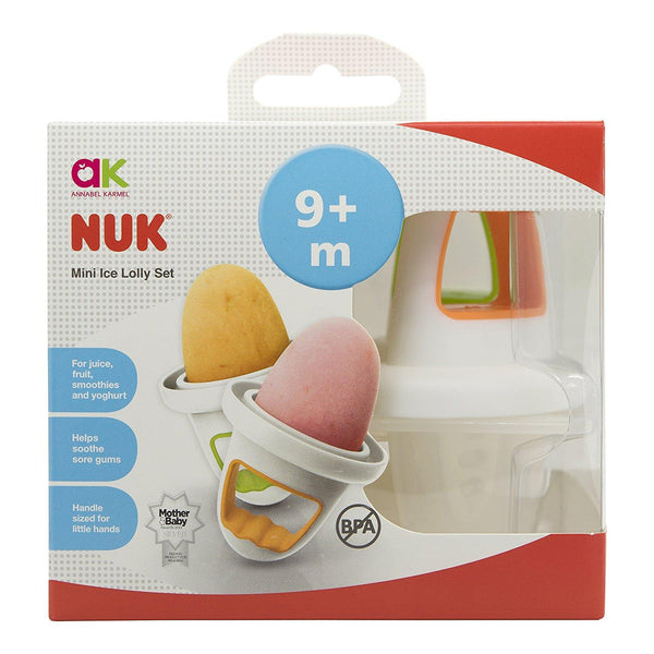 Annabel Karmel by NUK mini Ice Lolly Moulds -