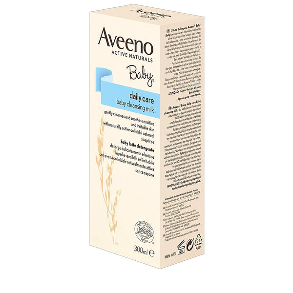Aveeno Baby Daily Care Cleansing Milk, 300 ml - Skincare