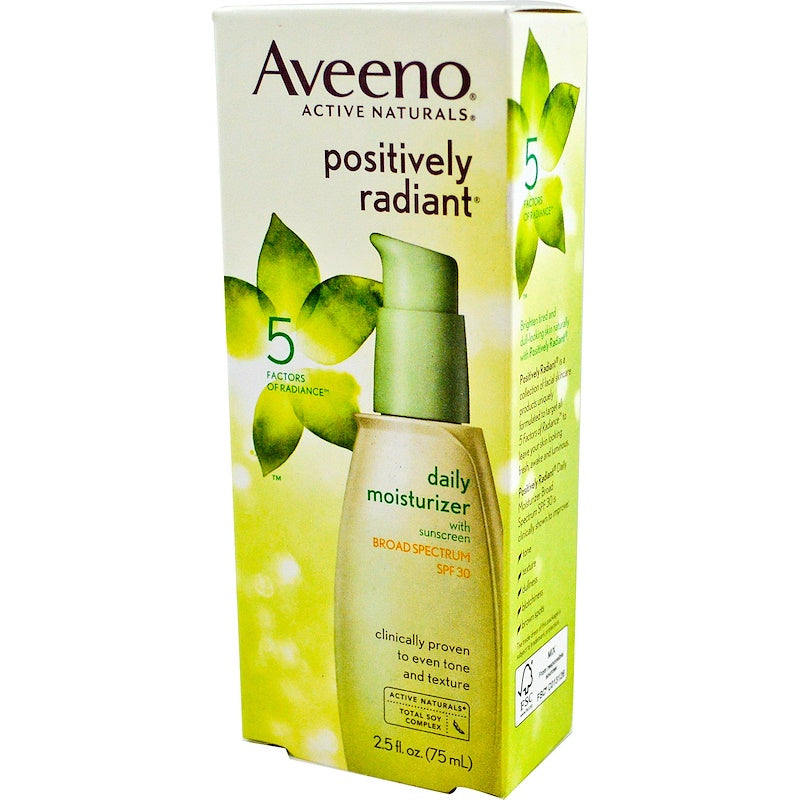 Aveeno Active Naturals Daily Moisturizer with Sunscreen 4fl oz (120 ml) - Skincare