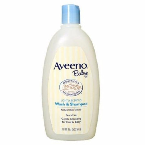 Aveeno Baby Wash and Shampoo 18oz - Skincare