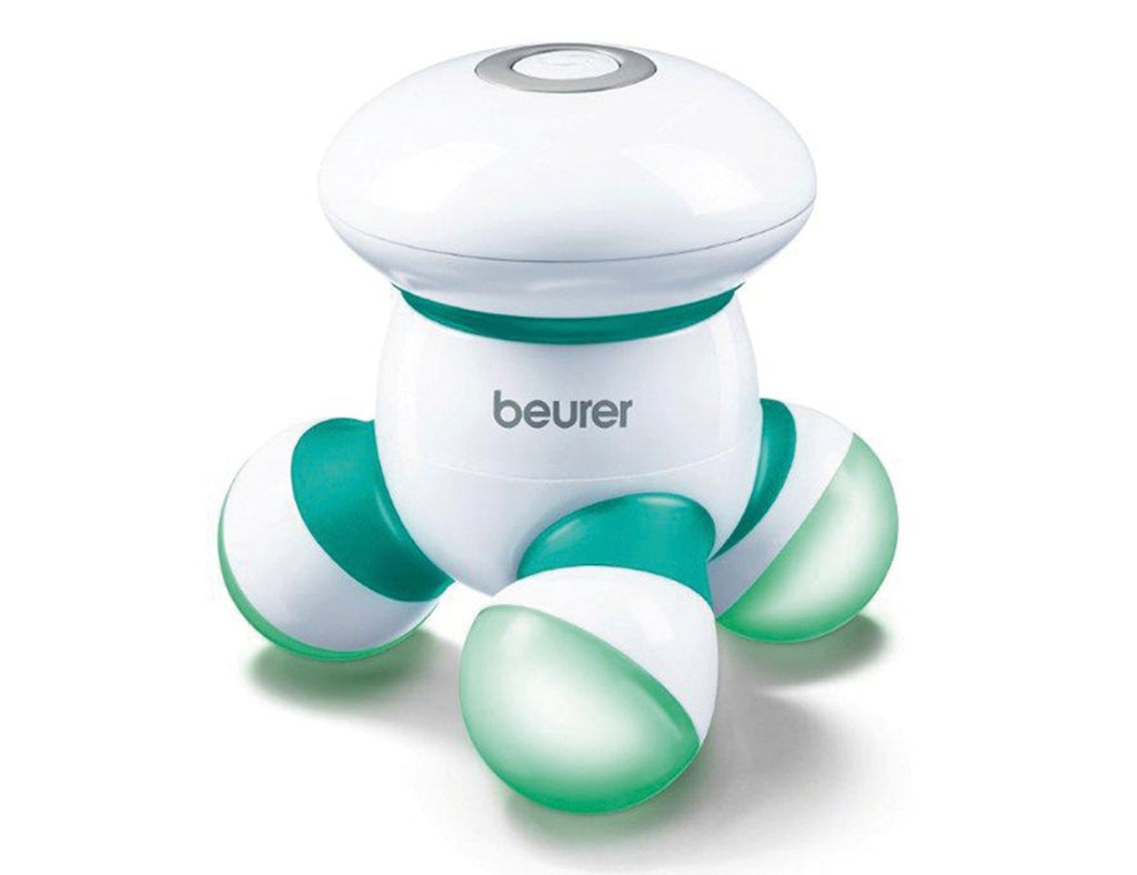 Beurer Mini Massager - MG 16 - (Green) | 3-year Warranty German Product Authorized Dealers - Electric Blankets & Pain Relief