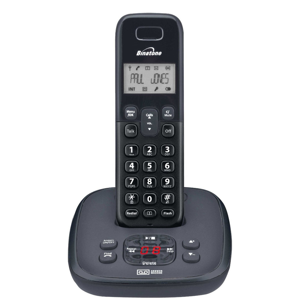 Binatone Veva 1720 Single DECT Phone with Answer Machine - Walkie Talkies & Phones