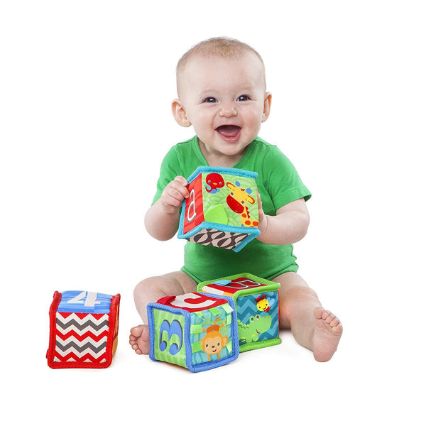 Bright Starts Grab and Stack Blocks -