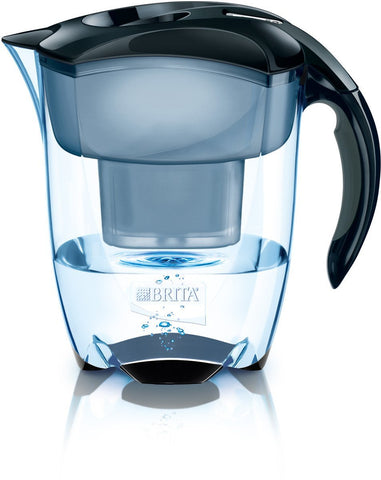 Brita Elemaris Jug 3.5L (Black) - Water Filters