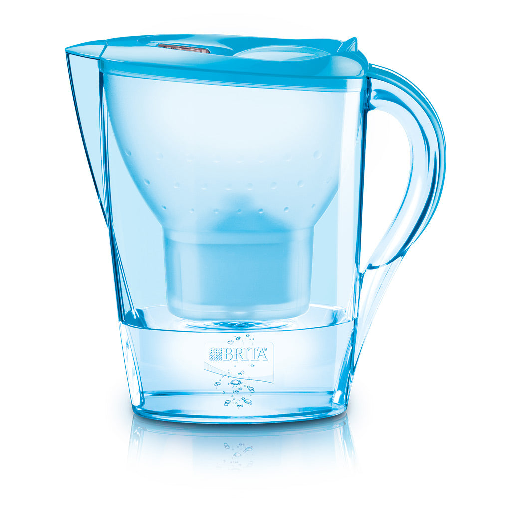 Brita Marella 2.4L Water Jug with 1 Maxtra Filter (Orchid Blue) - Water Filters