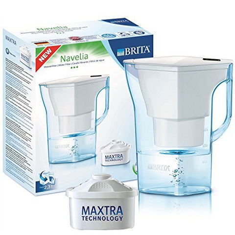 Brita Navelia Water Jug 2.3L (White) - Water Filters