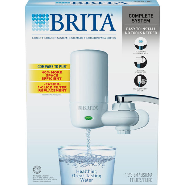 Brita On Tap Faucet Filtration System - White - Water Filters