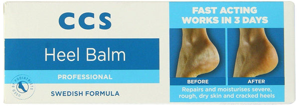 CCS Swedish Foot Heel Balm For Rough Dry And Cracked Heels - 75g - Skincare