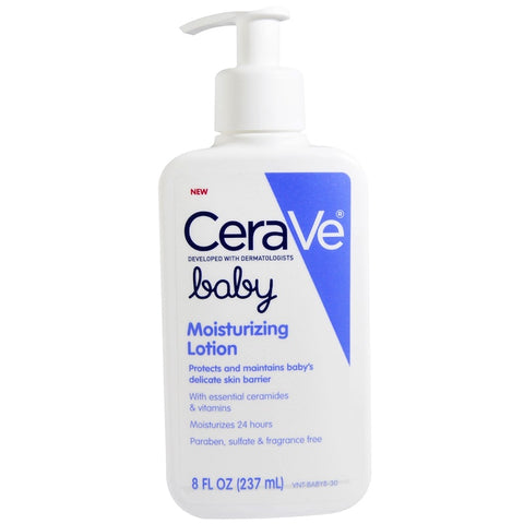 Cerave Baby Moisturizing Lotion 8 fl oz (237ml) - Skincare