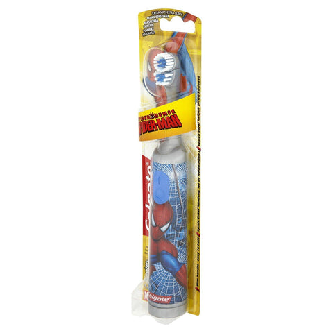 Colgate Spider-Man Kids Battery Powered Toothbrush - Dentalcare