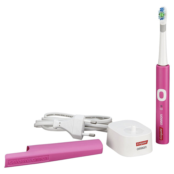 Colgate ProClinical C250 Rechargeable Electric Toothbrush (Pink) - Dentalcare