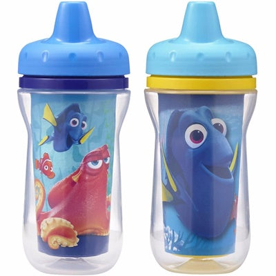 Finding Dory 90z/266ml Insulated Sippy Cups 9m+ (Colors and Design May Vary) - Mother Baby & Kids