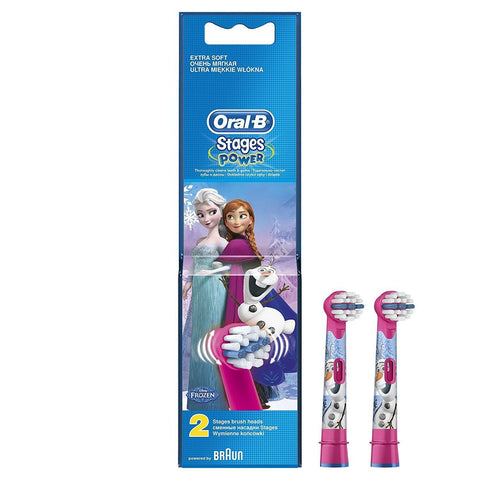 Oral-B EB 10 2 Frozen ? Head (Blue, Pink)