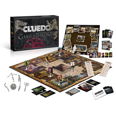 Game of Thrones Cluedo Game Winning Moves - Toys