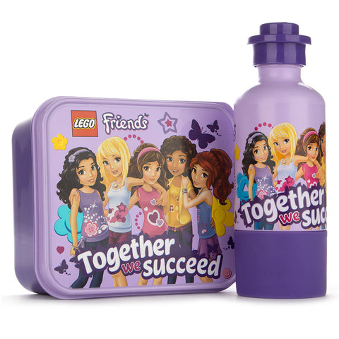 Lego Friends Together We Succeed Lunch Set (Purple) - Toys