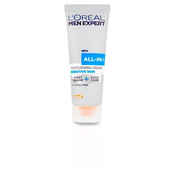L'Oreal Men Expert All-In-One Sensitive Face Cream 75ml - Skincare