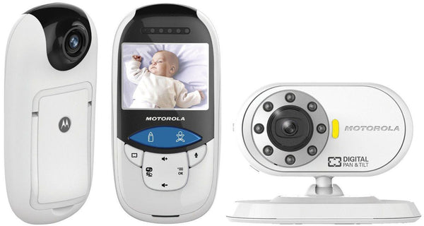 Motorola MBP27T Digital Video & Thermometer Baby Monitor with No-Touch IR Sensor  Baby Monitor - Mother Baby & Kids