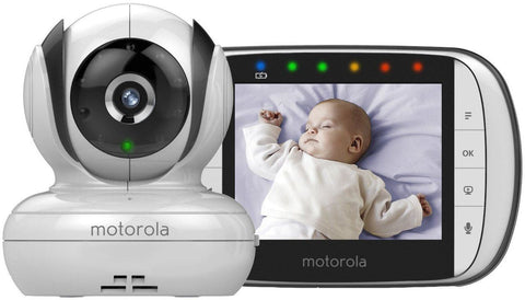 Motorola MBP36S Digital Camera Video Monitor with 3.5 Inch Colour LCD Screen New  Baby Monitor - Mother Baby & Kids