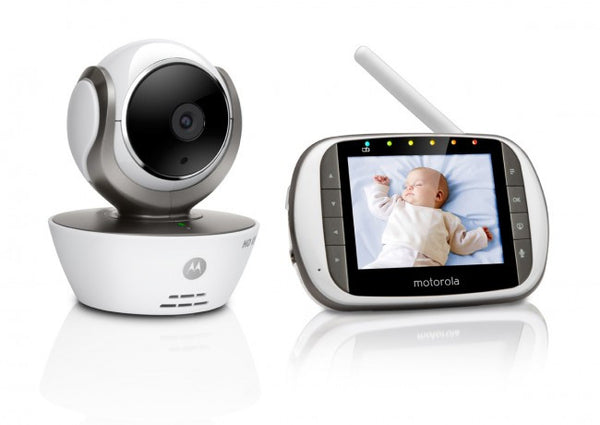"Motorola MBP853 Connect HD Digital WiFi Camera Video Baby Monitor 3.5"" Display Baby Monitor - Mother Baby & Kids"