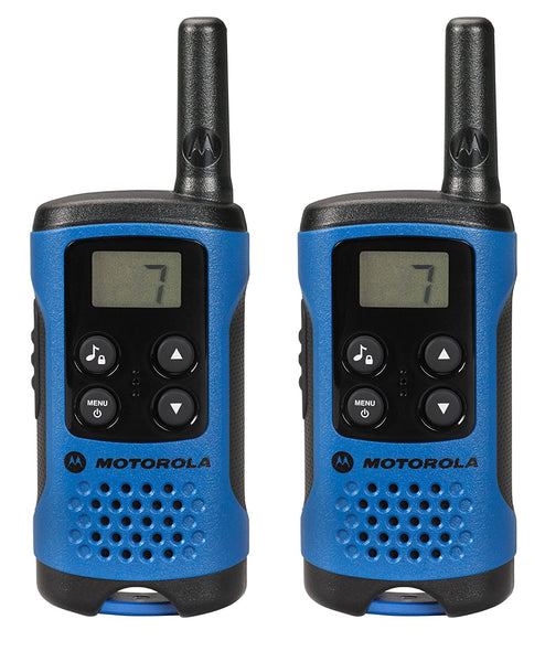 Motorola T41 Walkie Talkie Consumer Radio (Blue) (For export only) - Walkie Talkies & Phones