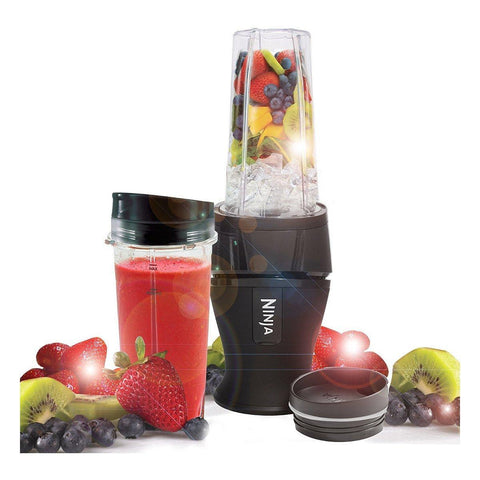 Ninja QB3001UKMK Blender and Smoothie Maker, 700 W, Black