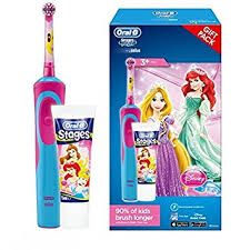Oral-B Disney Princess Rechargeable Electric Toothbrush Gift Set - Dentalcare
