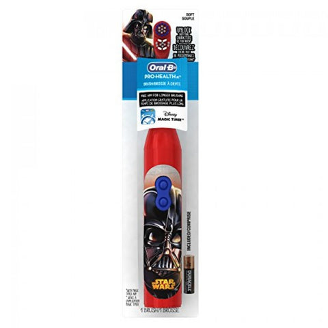 Oral-B Pro-Health Stages Star Wars Toothbrush (Red)