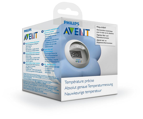 Avent SCH55020 Bath and Room Thermometer blue - Mother Baby & Kids