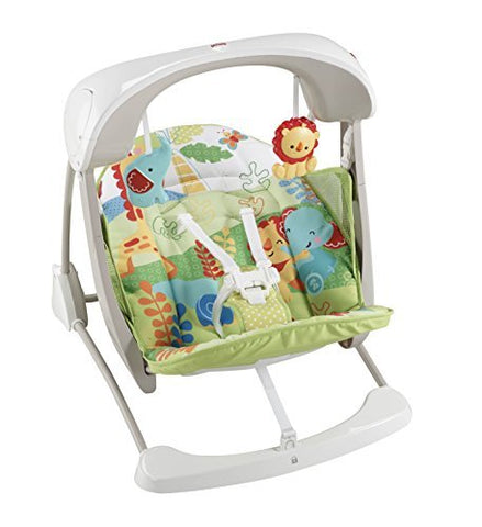 Fisher-Price Rainforest Take Along Swing and Seat Set -