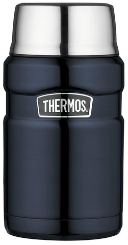 Thermos Stainless King Food Flask, Midnight Blue, 710 ml